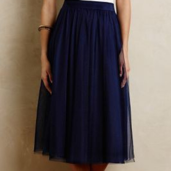 really comfortable choose latest attractive fashion Uniqlo Tulle Midi Skirt (NWOT)